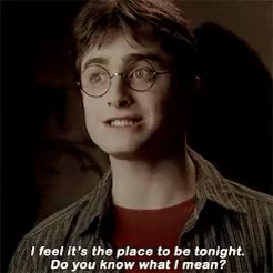 Watch this daniel radcliffe GIF on Gfycat. Discover more *, daniel radcliffe, gifs, half-blood prince, harry potter, hermione granger, hpedit, hpgif, milla, ronald weasley GIFs on Gfycat