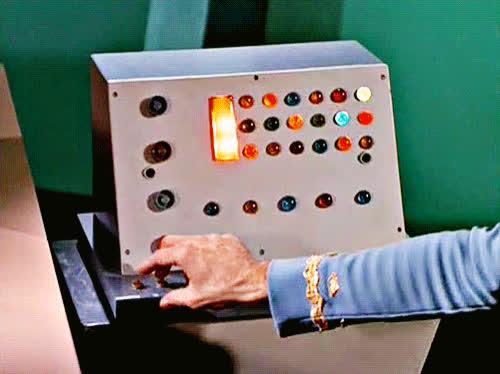 Star Trek, Star Trek Computer, Star Trek The Original Series, TOS, The Original Series, TOS Console GIFs