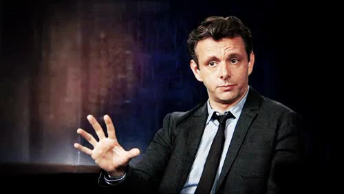 Watch and share Michael Sheen GIFs on Gfycat