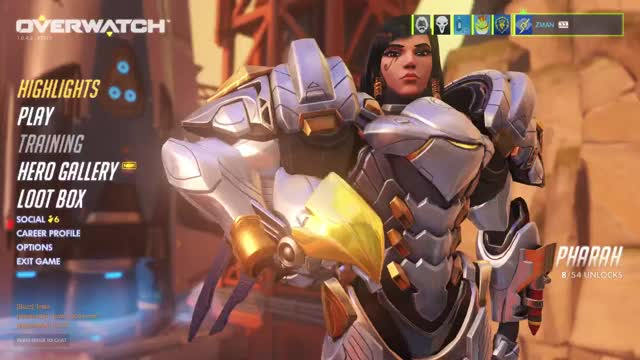 Watch From Behind =] GIF by majinrebel on Gfycat. Discover more Pharah, overwatch GIFs on Gfycat