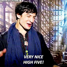 Watch and share Ezra Miller GIFs on Gfycat