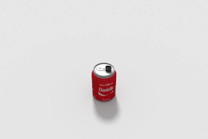 daily3d, soda can GIFs