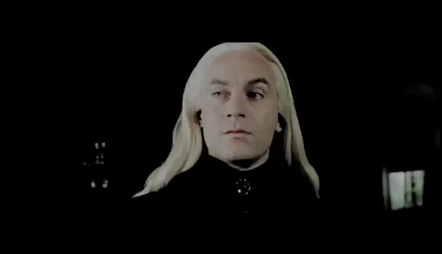 Watch and share Lucius Malfoy | Bleeding Out. GIFs on Gfycat