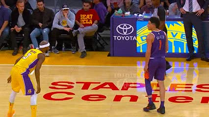 Watch Devin Booker — Phoenix Suns GIF by Off-Hand (@off-hand) on Gfycat. Discover more 111717 GIFs on Gfycat