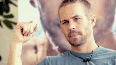paul walker, This interview is from , Girl. He is not wit that chick anymore GIFs