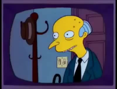 Watch Smithers, I'm home! GIF on Gfycat. Discover more related GIFs on Gfycat