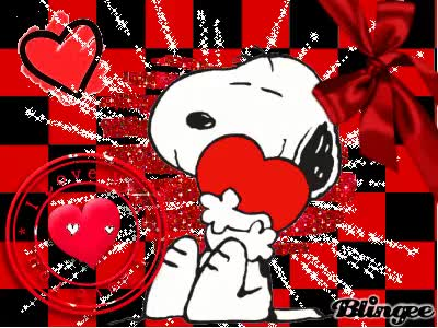 Watch and share Snoopy Love GIFs on Gfycat