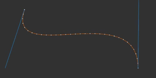 Blender python script to normalize a bezier spline GIF   Find, Make