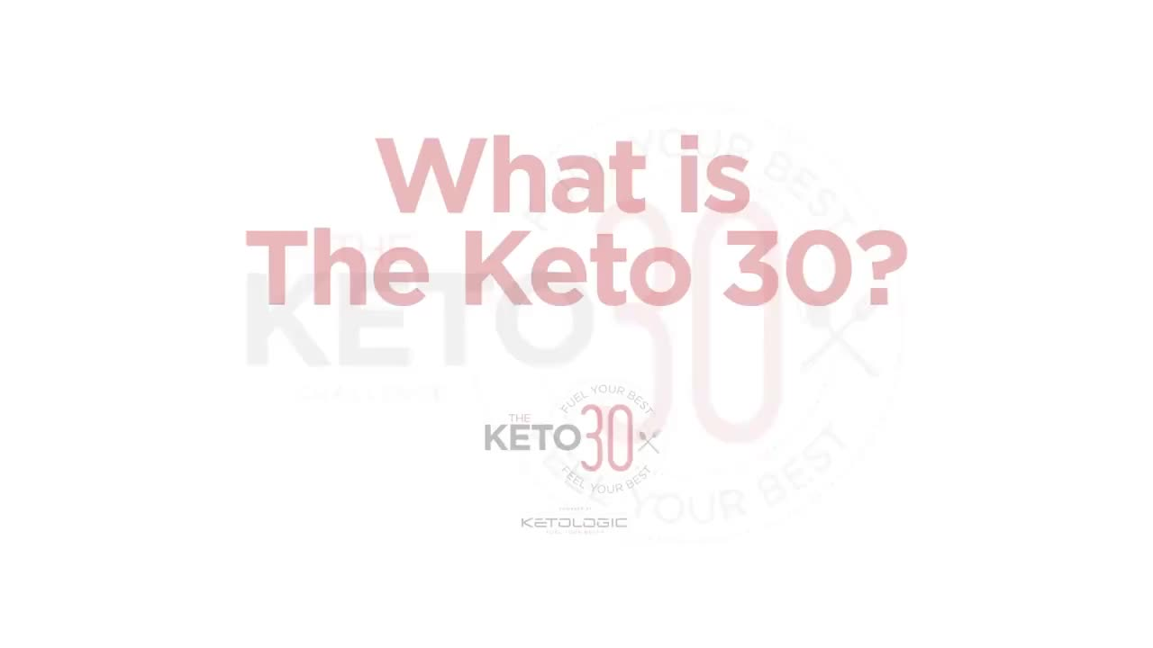 What is the Keto 30 Challenge? GIFs