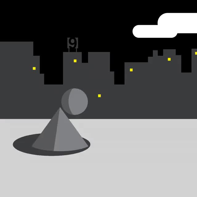 Watch and share Flat Nine Design Ball Toss GIFs on Gfycat