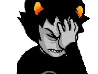 Watch and share Homestuck, Karkat animated stickers on Gfycat