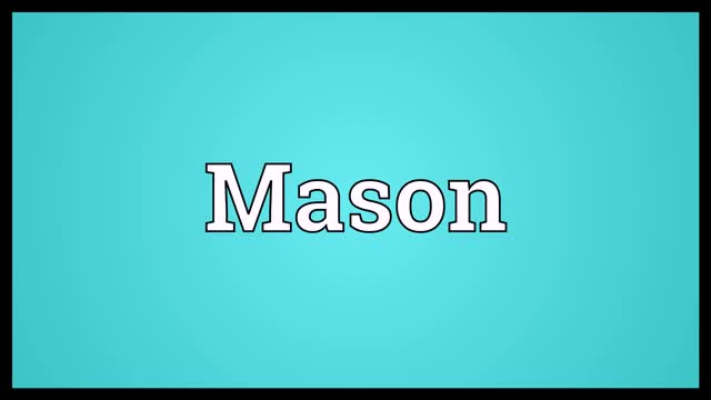 Watch Mason Meaning GIF on Gfycat. Discover more related GIFs on Gfycat
