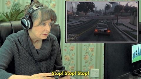 Elders React, GTA, GTA V, GTAV, Games, Gaming, Grand Theft Auto, Grand Theft Auto V, REACT, REACT Gaming, REACT channel, TheFineBros, Elders Play Grand Theft Auto V (Elders React: Gaming)If you  GIFs