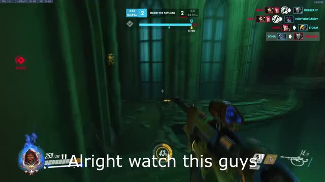 Watch Sneaky ana GIF by @yperkel on Gfycat. Discover more overwatch GIFs on Gfycat