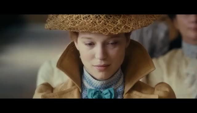 Watch Diary of a Chambermaid Official Trailer 1 (2016) - Léa Seydoux, Vincent Lindon Movie HD GIF on Gfycat. Discover more related GIFs on Gfycat