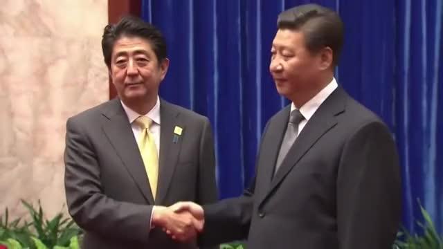 Watch and share Shinzo Abe GIFs and Xi Jinping GIFs on Gfycat
