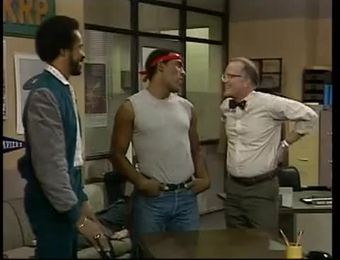 Watch and share Less Nessmen GIFs and Wkrp GIFs on Gfycat