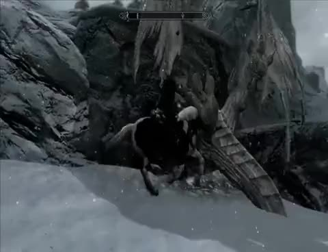 Watch skyrim GIF on Gfycat. Discover more skyrim drahon bug GIFs on Gfycat