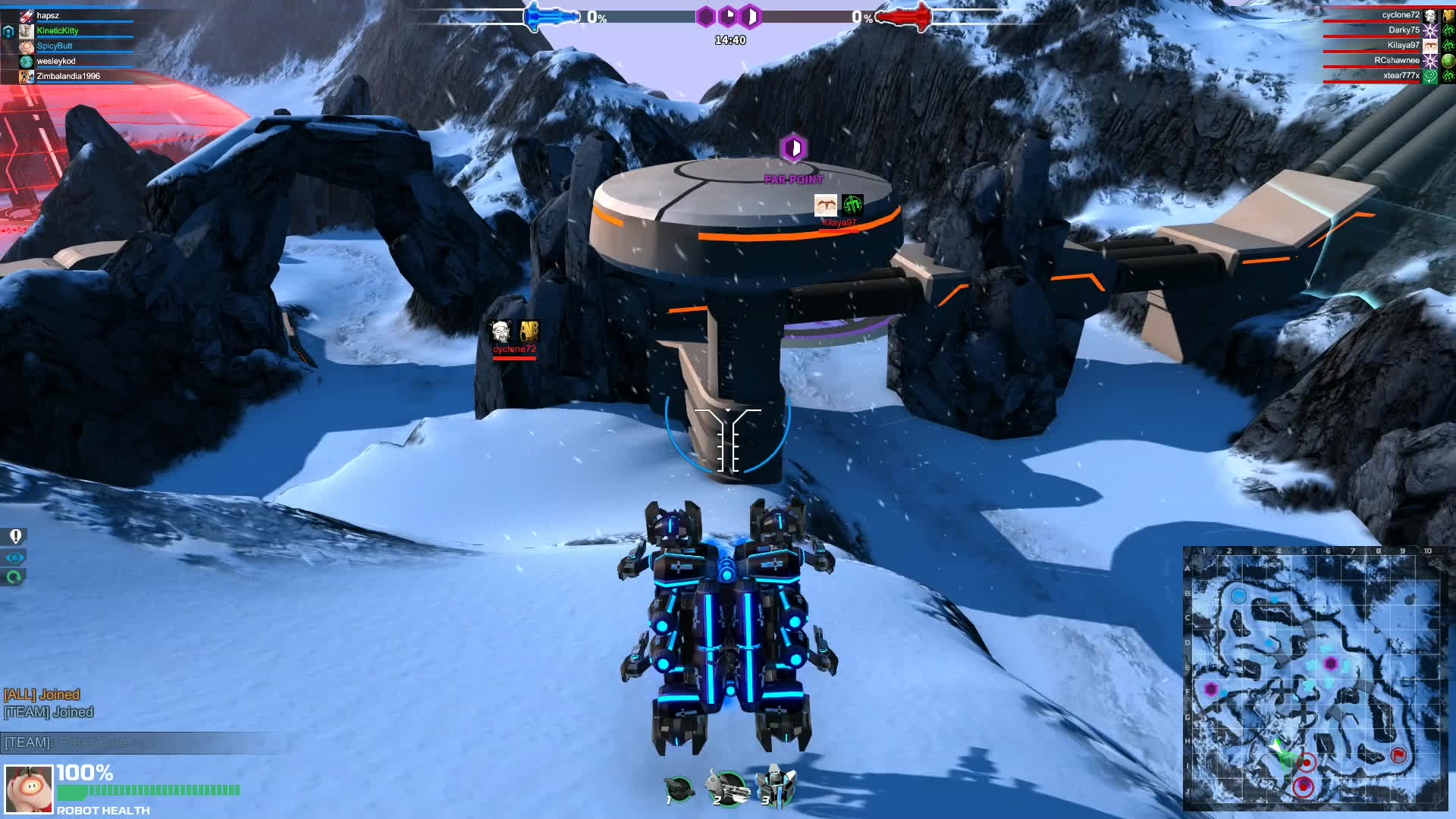 robocraft, How to instantly steal a point from 3 people GIFs