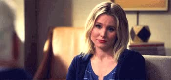 Watch and share Kristen Bell GIFs by opiates on Gfycat