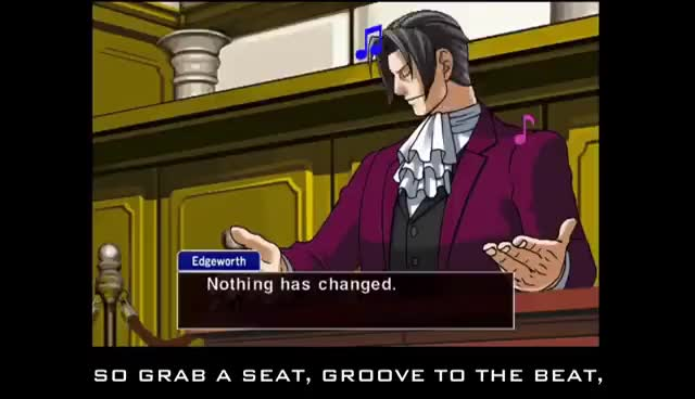 Watch Edgeworth Grooves GIF on Gfycat. Discover more related GIFs on Gfycat