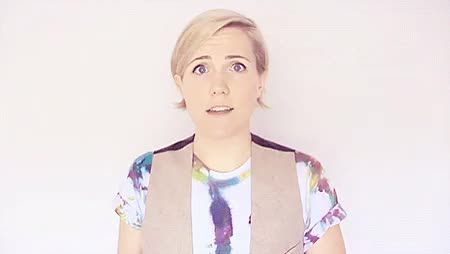Watch Stay Grounded GIF on Gfycat. Discover more gifs, hannah hart, my drunk kitchen, my gifs, she's so adorable GIFs on Gfycat