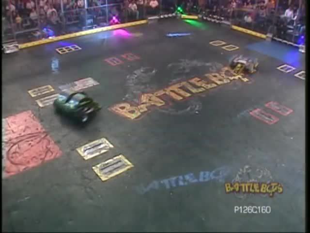 battlebots (tv program), diesector, donald, [BattleBots 4.0] Diesector vs. Techno Destructo GIFs