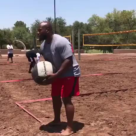 Watch and share Medicine Ball Volleyball. GIFs by Gif-vif.com on Gfycat