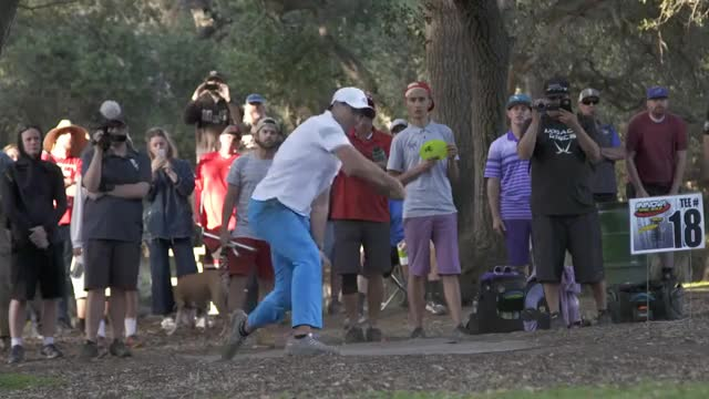 Watch 2018 Wintertime Open Round 3 Part 1(McMahon, Brown, Anthon, McBeth,) GIF on Gfycat. Discover more All Tags, BSF, Disc, Philo, Worlds, albatross, barsby, dela, delaveaga, dgpt, dgwt, frolf, locastro, mcbeast, milo, nikko, nt, pdga, sockibomb, tosh GIFs on Gfycat