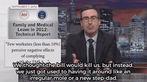 Watch and share Last Week Tonight GIFs and Maternity Leave GIFs on Gfycat