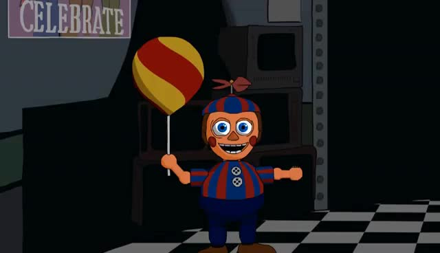 Watch and share Fortnight At Freddy's (A Five Nights At Freddy's 2 Animation) GIFs on Gfycat