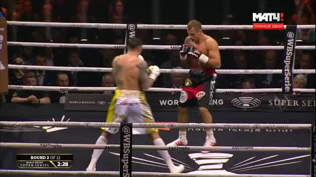 Watch Briedis bringing fire to Oleksandr Usyk early in the fight GIF by @stnstn on Gfycat. Discover more boxing, fight of the year, knockdown, knockout, latvia, mairis briedis, muhammad ali cup, oleksandr usyk, roy jones, sports, ukraine, wbss GIFs on Gfycat