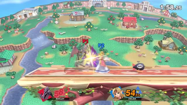 Direct Capture Gameplay E3 2018 - Duncan (Ridley) vs shofu (Zelda) - Super Smash Bros. Ultimate
