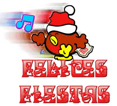 Watch and share Felices Fiestas Letras Bellas animated stickers on Gfycat