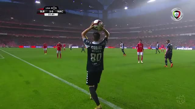 Watch SL Benfica X CD Nacional - SL Benfica Jogada Seferovic 32m GIF on Gfycat. Discover more related GIFs on Gfycat