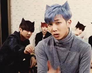 Watch this trending GIF on Gfycat. Discover more bts, kim nam-joon, rap monster GIFs on Gfycat