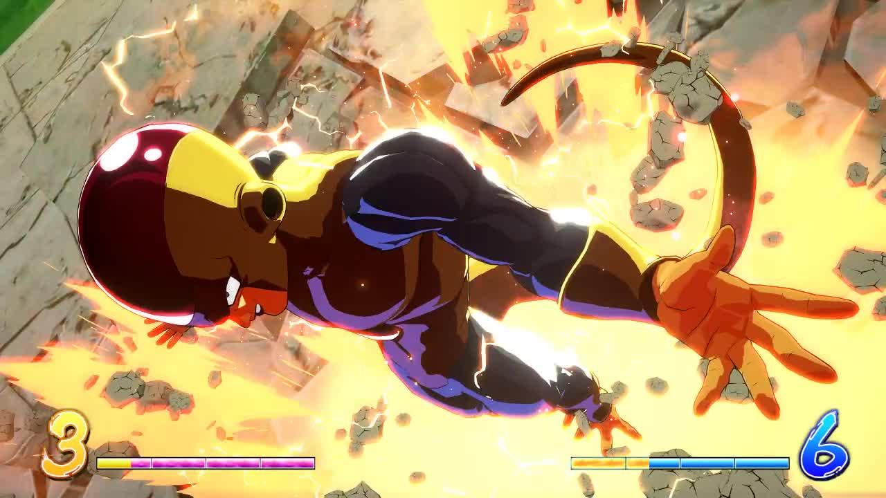 Dragon Ball FighterZ, dbfz, frieza nyoom GIFs