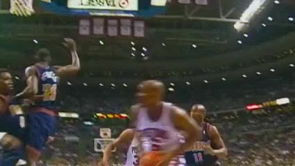 Watch and share Dikembe Mutombo, Denver Nuggets GIFs by Off-Hand on Gfycat
