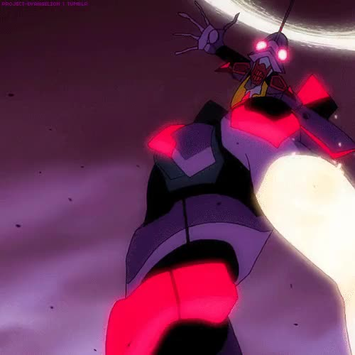 Watch and share Evangelion GIFs and Eva01 GIFs on Gfycat