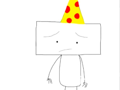Watch and share Birthday Boy Blam Taking His Hat Off [GIF] By Iloveminecraft55 GIFs on Gfycat
