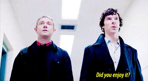 Watch and share Johnlock Confirmed GIFs and Sherlock Holmes GIFs on Gfycat