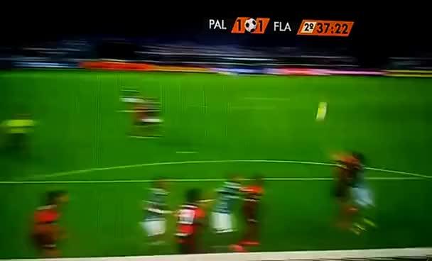 Watch and share Gol De Gabriel Jesus - Palmeiras 1 X 1 Flamengo - Campeonato Brasileiro - 14/09/2016 GIFs on Gfycat