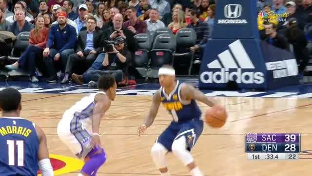 Watch lob GIF by @prejuce on Gfycat. Discover more Denver Nuggets, Sacramento Kings, basketball GIFs on Gfycat