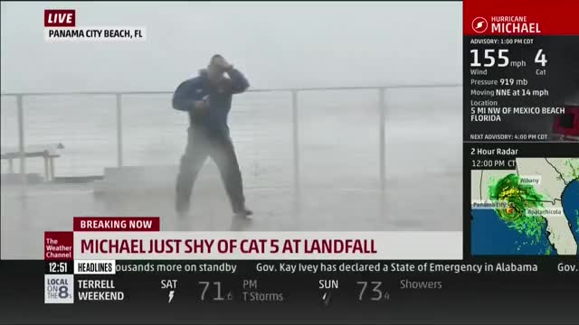 Watch watch out Jim Cantore! GIF by Nomorefoxgiven (@nomorefoxgiven) on Gfycat. Discover more related GIFs on Gfycat