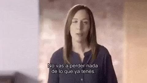 Watch and share ¡CAMBIEMOS!   María Eugenia Vidal   No Vas A Perder Nada... GIFs on Gfycat