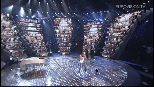alexandr lunyov, athens, ballerina, bilan, dima, dima bilan, esc, esc 2006, eurovision, eurovision 2006, eurovision song contest, greece, irina antonyan, karen kaverlyan, never let you go, piano, russia, vaporwave, Eurovisiongifs GIFs