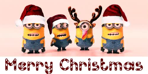 Watch and share Merry-christmas-minions-greeting-gif-4 GIFs on Gfycat