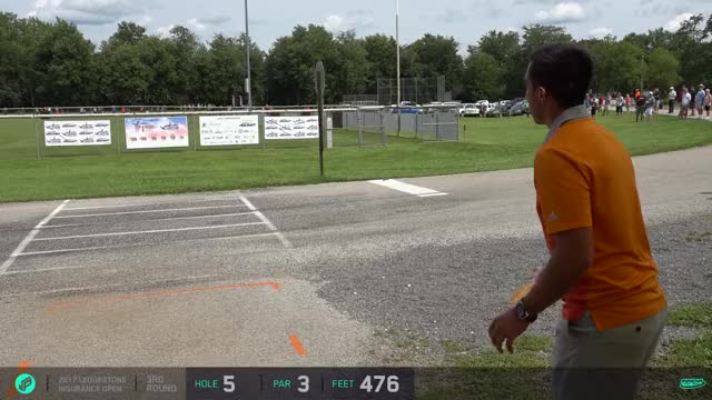 Watch 2017 Ledgestone Open | McBeth almost ace | Round 3 hole 5 GIF by Ultiworld Disc Golf (@ultiworlddg) on Gfycat. Discover more related GIFs on Gfycat
