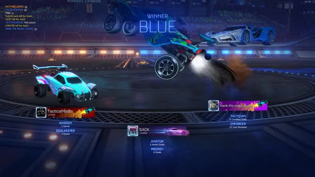 Rocket League Replay not saved after
