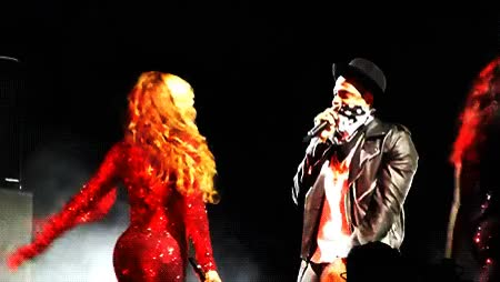 Watch and share Jay Z Smacking Beyonce's Butt GIFs on Gfycat